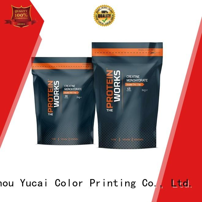 Yucai top quality food packaging supplies with good price for industry