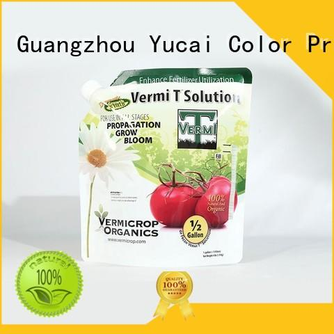 Yucai quality stand up bags directly sale for industry