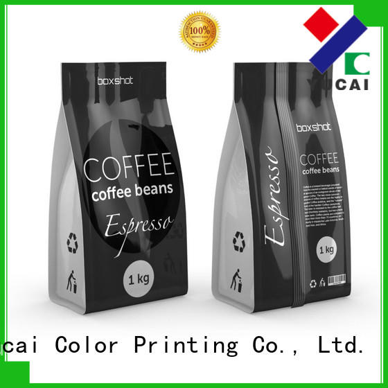 Hot Food grade custom printed coffee bags pouches Yucai Brand