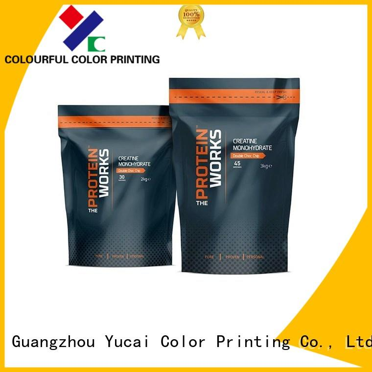 wholesale food packaging printed packaging Yucai Brand company