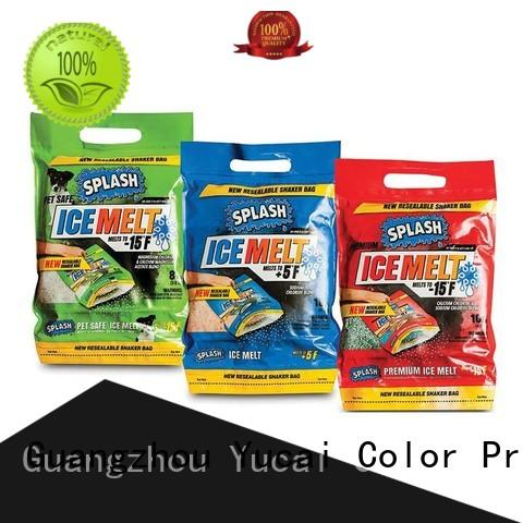 Yucai plastic packaging design for industry