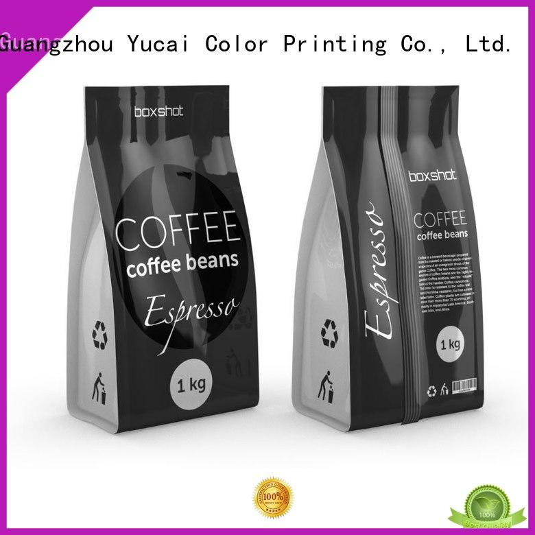Yucai quality tea packaging supplier for industry