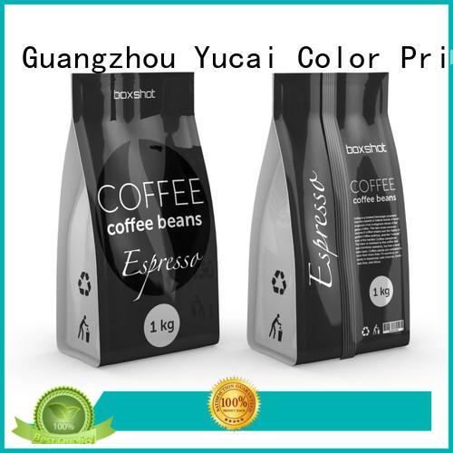 Custom packaging Food grade tea packaging Yucai tea