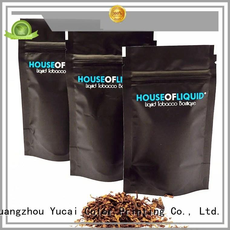 Yucai tobacco pouch supplier for industry