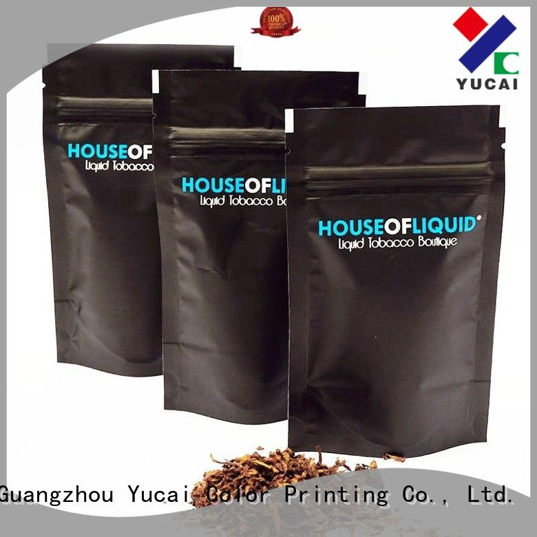 Yucai sturdy tobacco pouch factory price for drinks