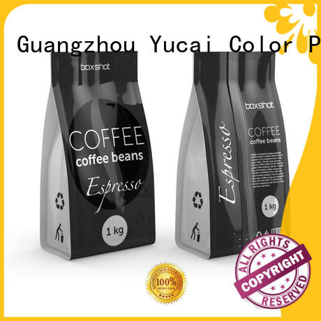 Yucai sturdy coffee bags wholesale supplier for commercial