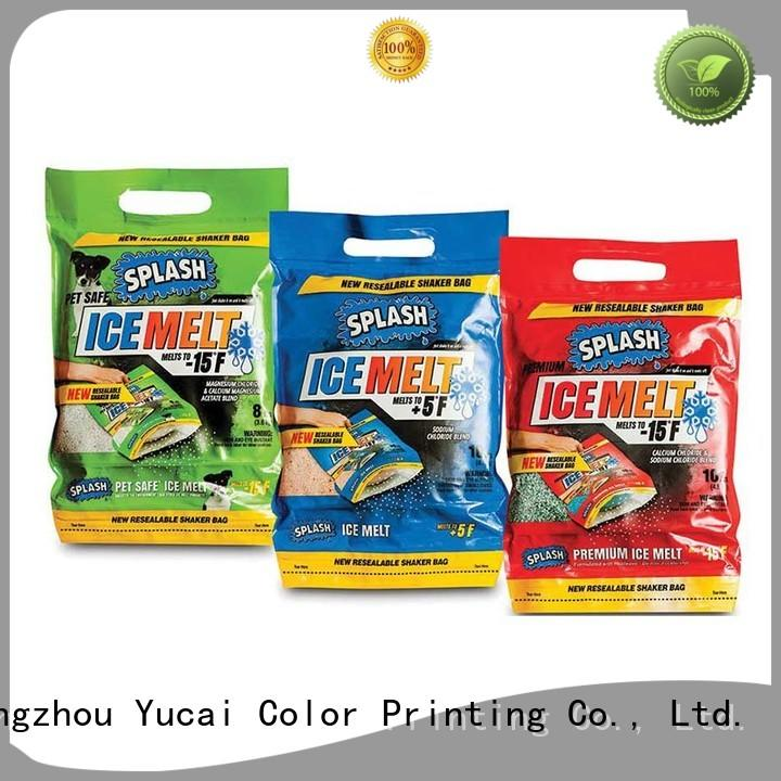 stand soap detergent Yucai Brand detergent bags manufacture