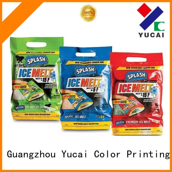 Wholesale packaging stand detergent packaging Yucai Brand