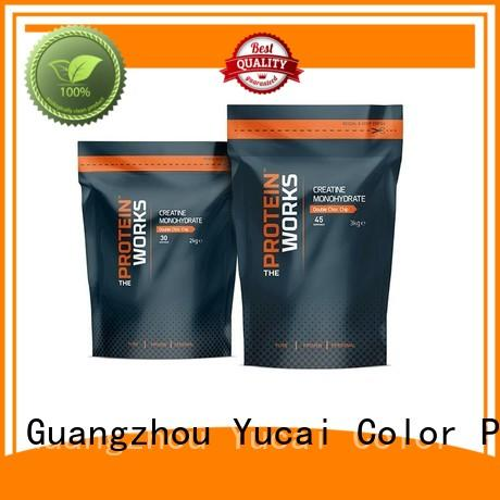 Quality Yucai Brand stand packaging food packaging supplies