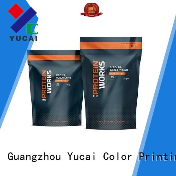 Yucai food packaging bags with good price for drinks