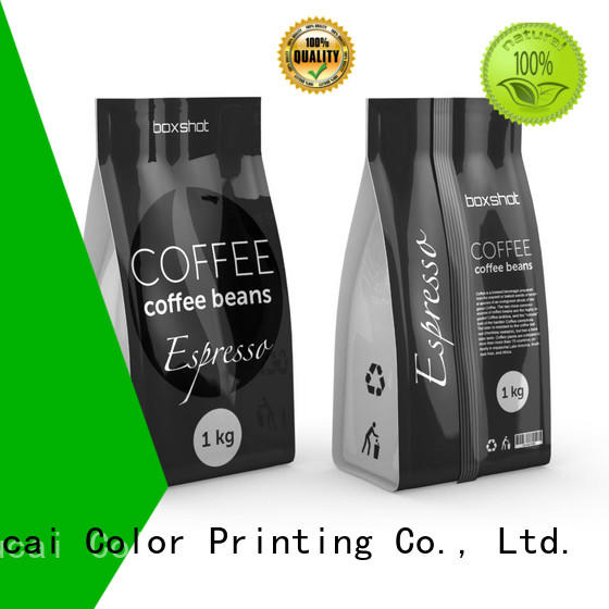 coffee packaging spouted stand Yucai Brand tea packaging supplier
