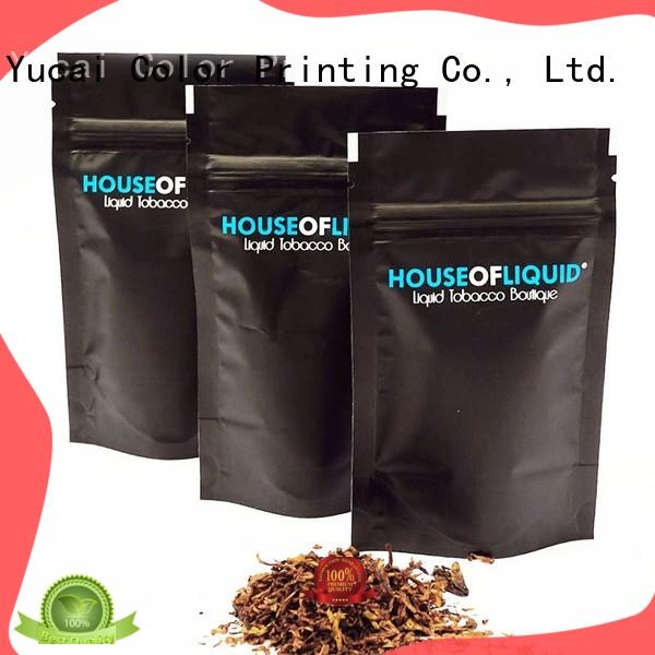 professional tobacco pouch factory price for drinks