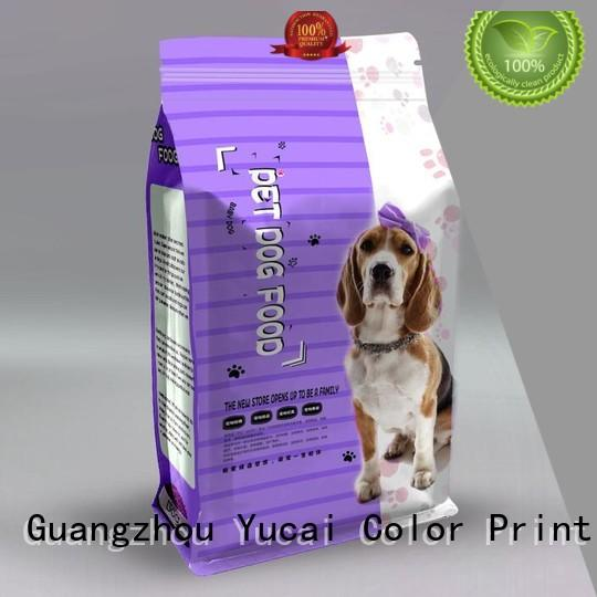 Hot pet food packaging stand Yucai Brand