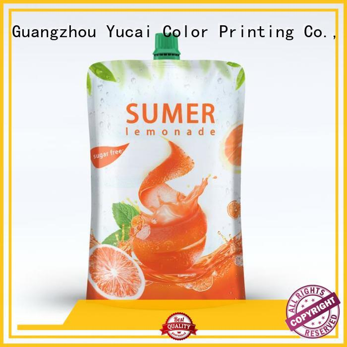 efficient pouch packaging with good price for commercial