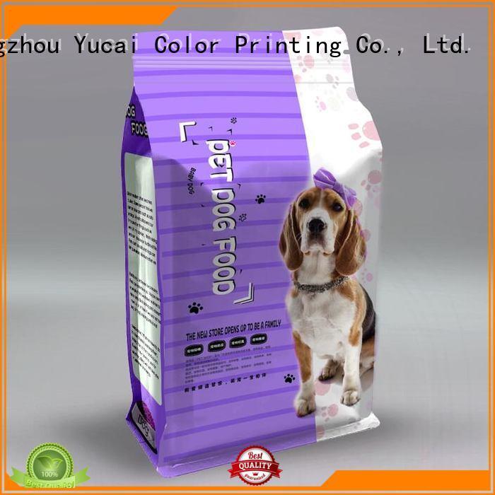 pet food bag pouches Bulk Buy food Yucai