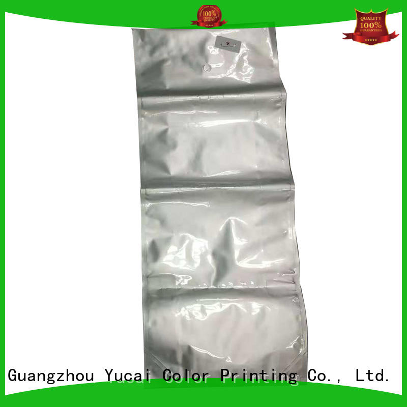 plastic packing bags manufacturer for commercial Yucai