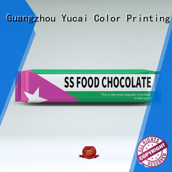 Yucai practical chocolate packaging manufacturer for food