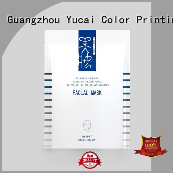 Yucai reliable custom cosmetic packaging directly sale for drinks