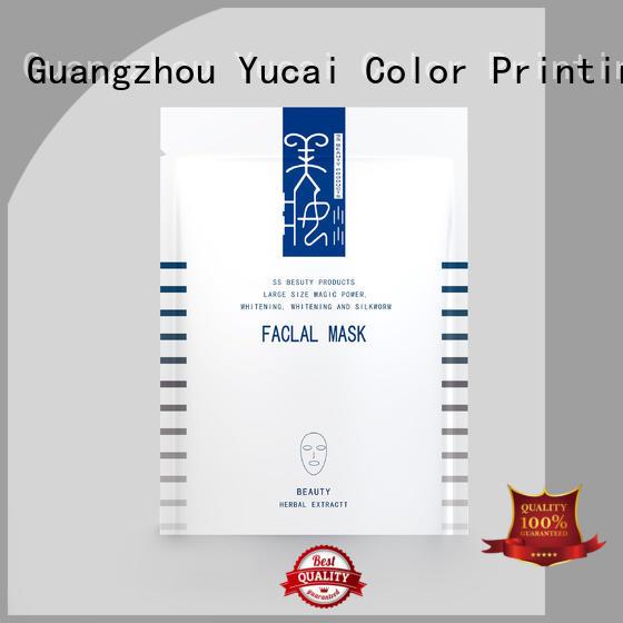 Yucai practical custom cosmetic packaging series for food