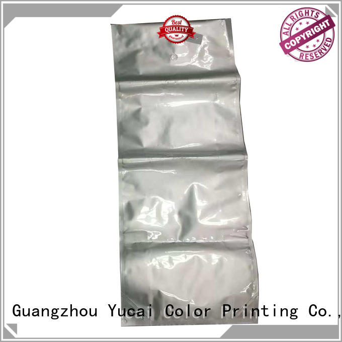 pet plastic food Yucai Brand pet food bag manufacture