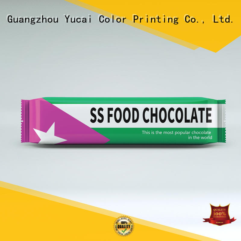 Yucai chocolate packaging from China for drinks