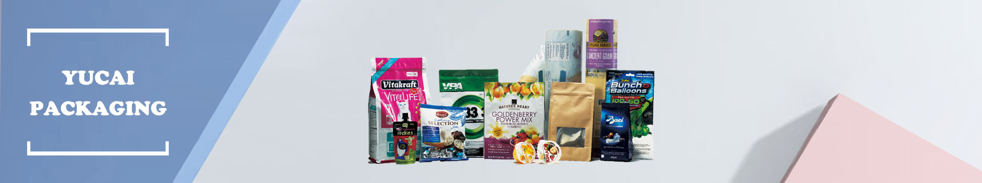 stand Up pouch,chocolate packaging supplies,packaging film roll-Yucai