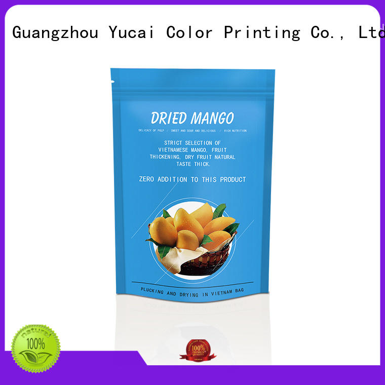 Yucai top quality food packaging bag inquire now for food