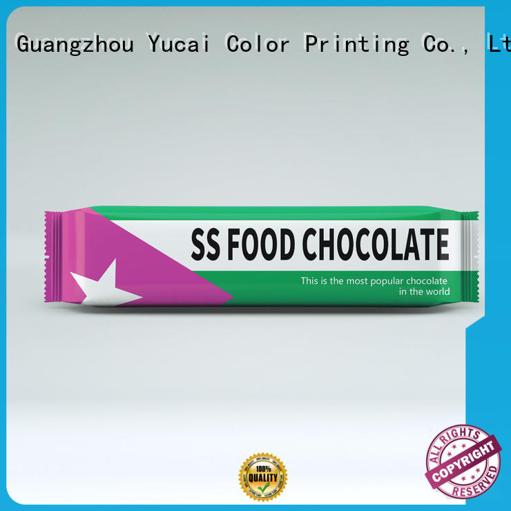 Yucai quality chocolate packaging supplies from China for food