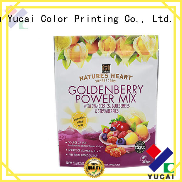 approved polypropylene bags factory for drinks Yucai