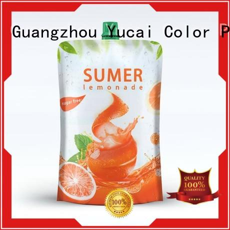beverage pouches inquire now for food Yucai