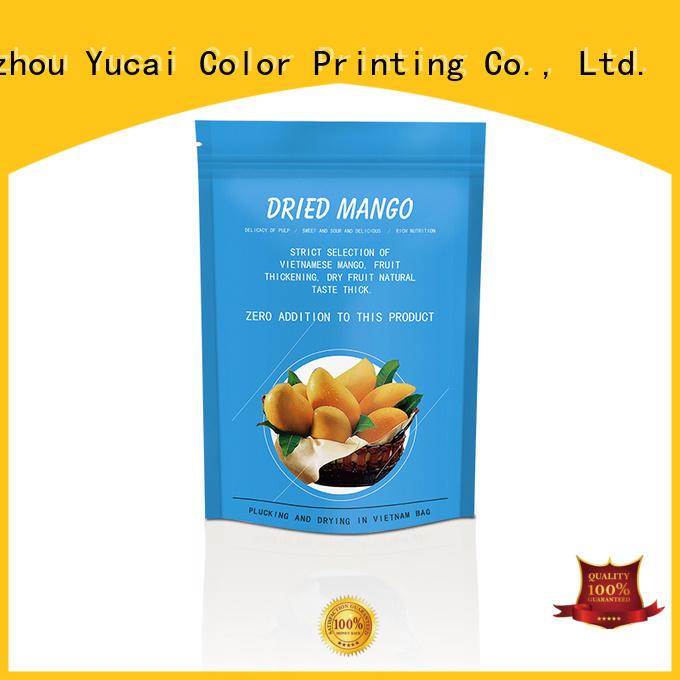 Yucai food packaging bag design for food