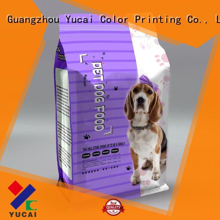 pet food bag food pouches Bulk Buy Food grade Yucai