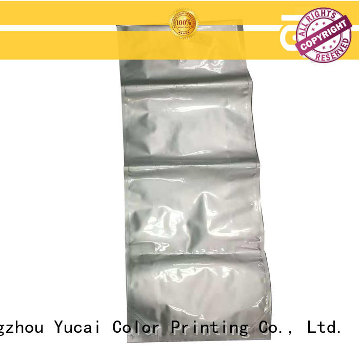 Yucai pet food packaging from China for industry
