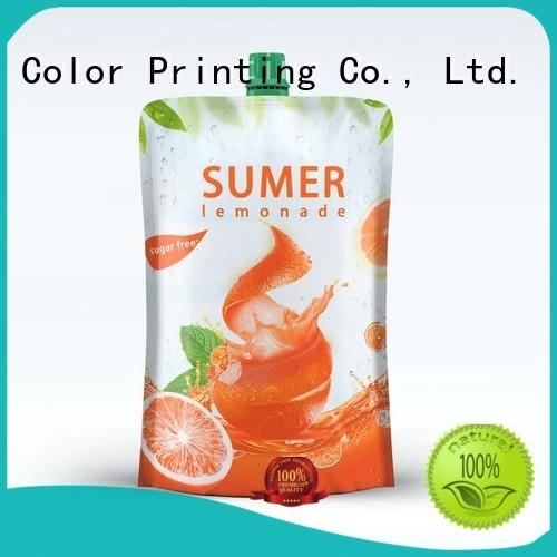 Yucai drink pouches factory for drinks
