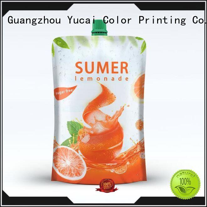 liquid pouch packaging inquire now for commercial Yucai