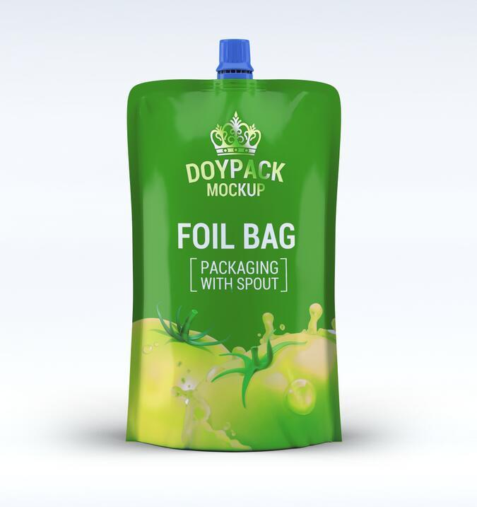 Yucai-Beverage Packaging Drink Pouches With Spouted Pouches