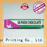 Quality Yucai Brand chocolate bar packaging packaging