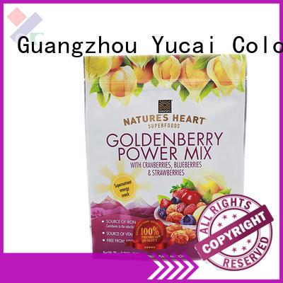 food packaging bag design for industry Yucai