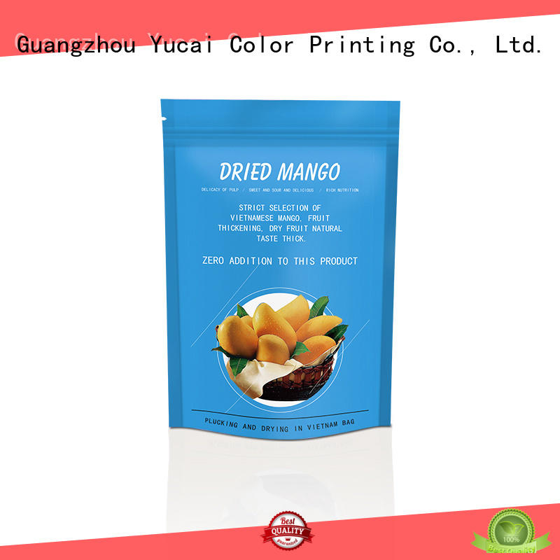 ziplock food packaging bags factory for commercial