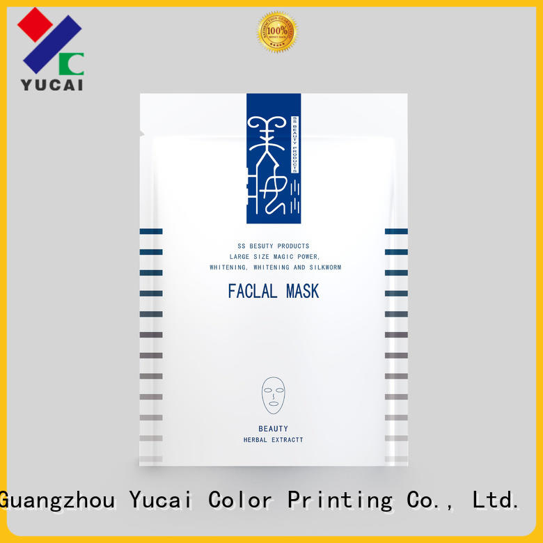 Yucai reliable custom cosmetic packaging manufacturer for drinks