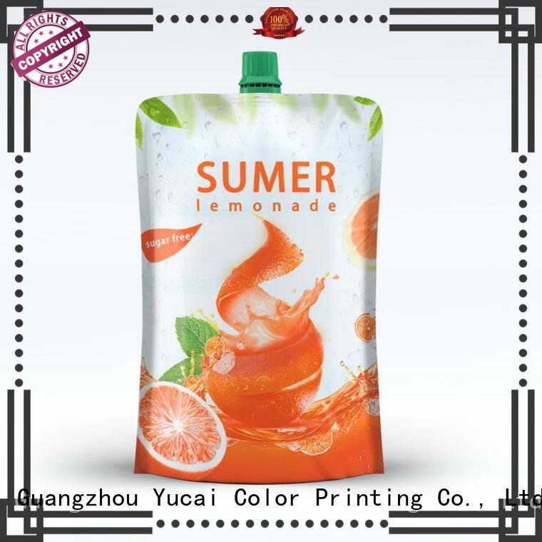 Yucai pouch packaging inquire now for food