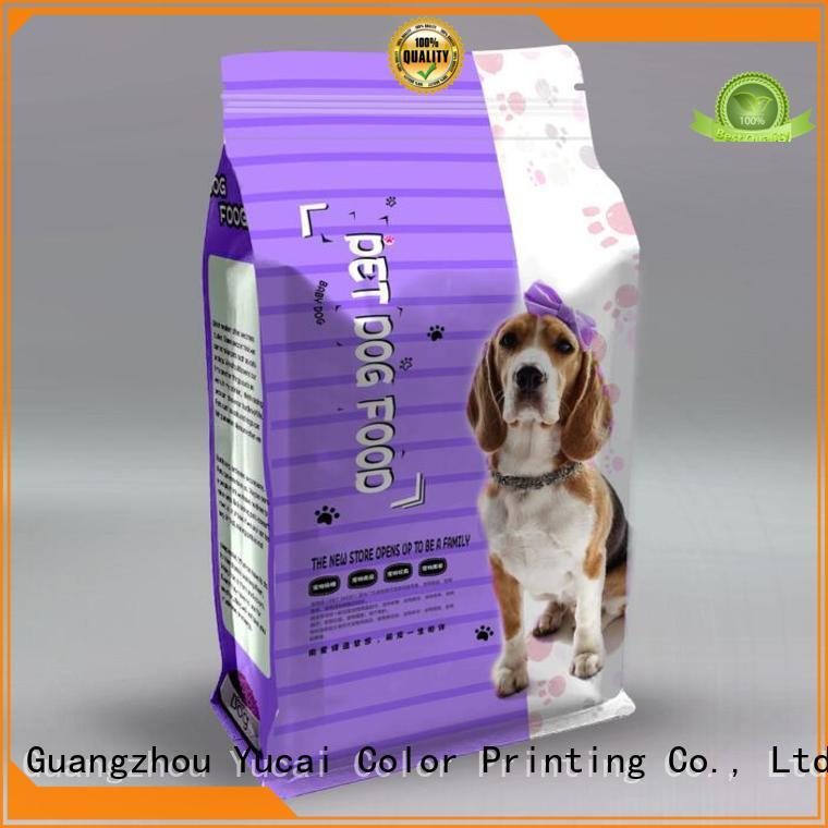Yucai pet food packaging bag from China for industry