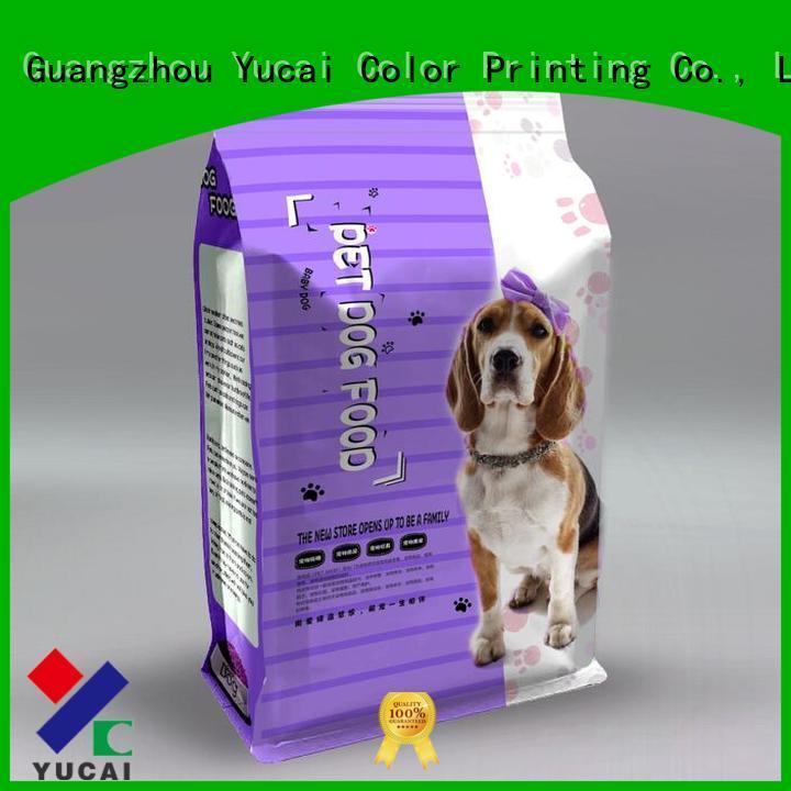 pouches pet Yucai Brand pet food bag