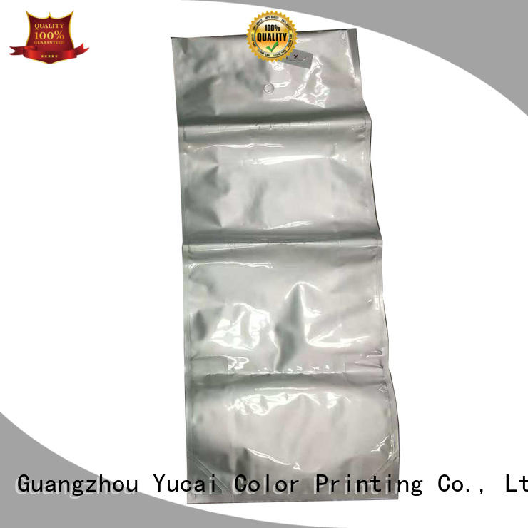 Yucai flat packaging companies manufacturer for commercial