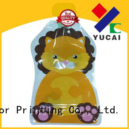 Yucai pouch packaging factory for drinks