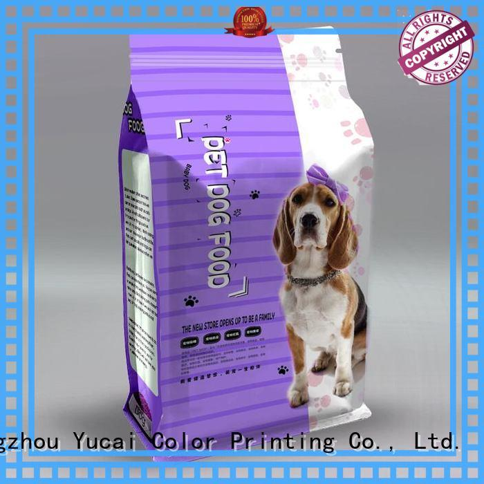 Yucai pet food packaging series for industry