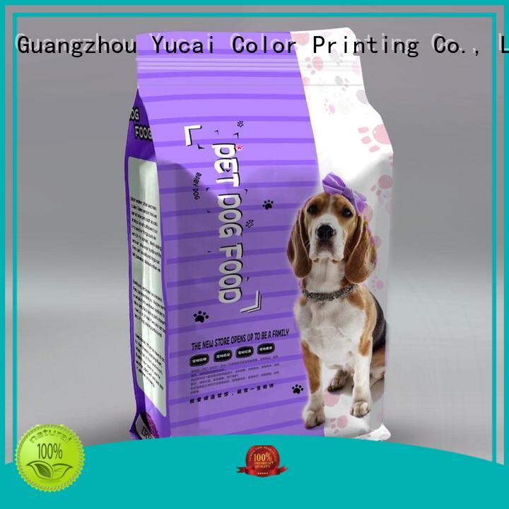 Hot pet food packaging pouches Yucai Brand