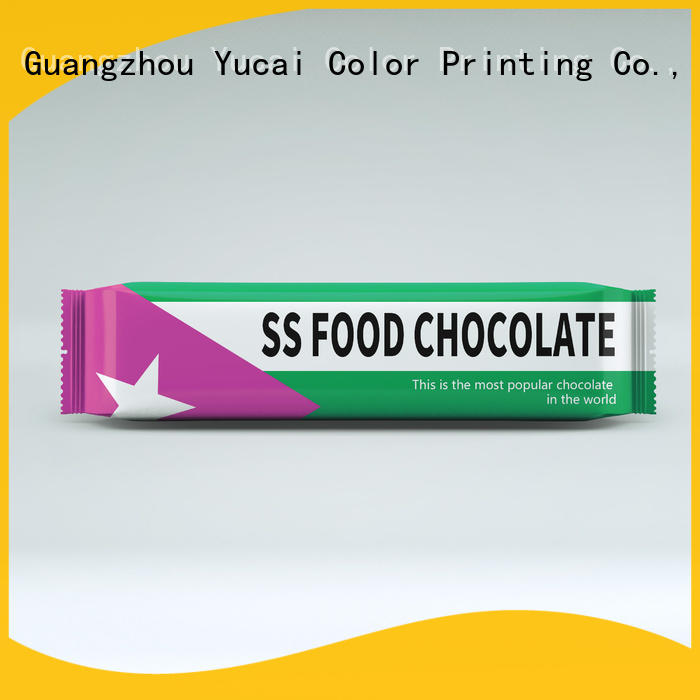 quality chocolate bar packaging directly sale for food Yucai