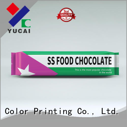 Yucai chocolate packaging customized for commercial