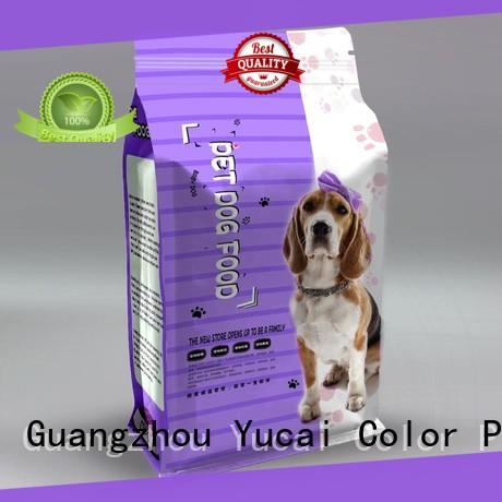 quality pet food packaging customized for drinks